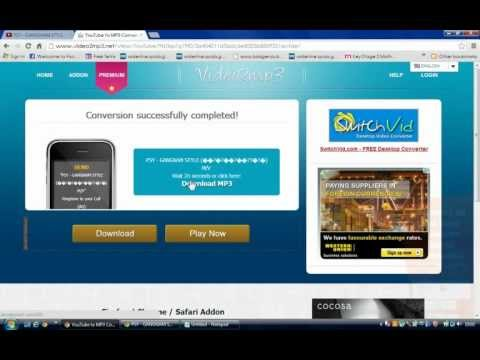 How to convert video into Mp3