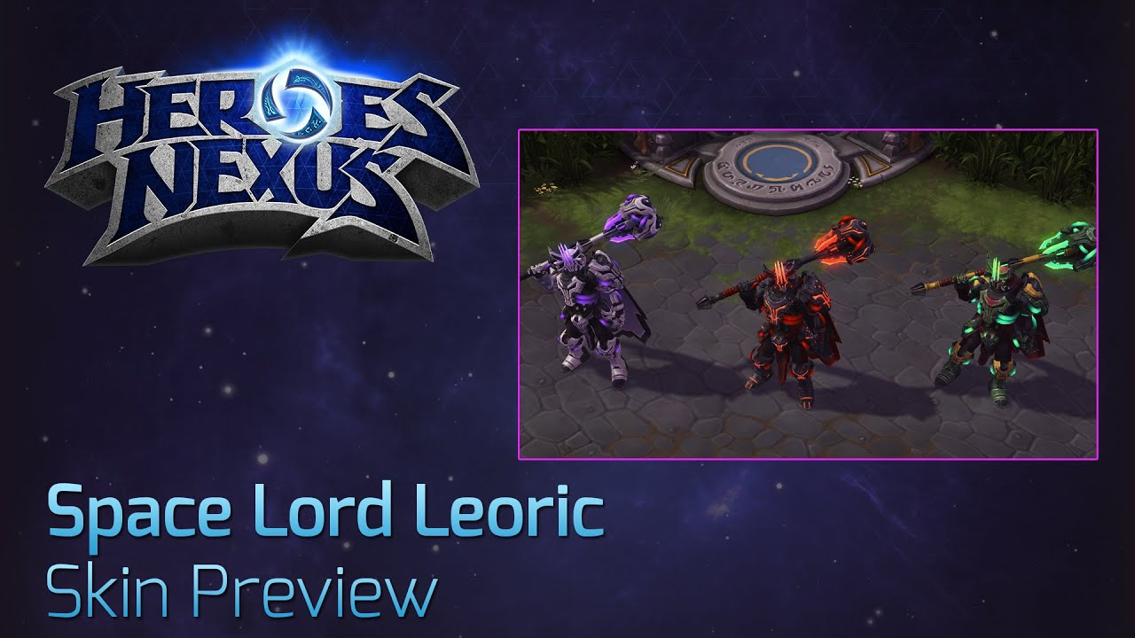 Space lord leoric skin preview youtube - Heroes of the storm space lord leoric ...
