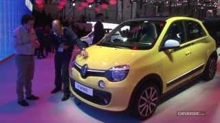 Genève 2014 - Nouvelle Renault Twingo 3