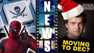 Deadpool most pirated movie of 0016, Han Solo Movie moving to December 0018?
