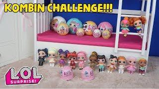 LOL SÜRPİZ KOMBİN CHALLENGE!! Kirli çamaşır sepetinden en güzel kombin kimin? Bidünya Oyuncak