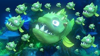 ЭТО МОЯ АРМИЯ БИБАСОВ! САМАЯ ОГРОМНАЯ СЕМЬЯ! РЫБИЙ ЧЕЛЛЕНДЖ! FEED AND GROW FISH