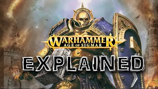 Age Of Sigmar EXPLAINED by an Australian - Entire Plot and Lore