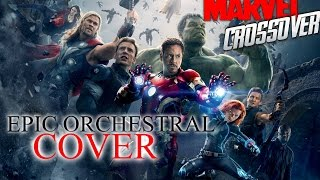Video Medley Marvel's Themes | Epic Orchestral Cover [Iron-Man | Thor | Captain America | Avengers] download MP3, 3GP, MP4, WEBM, AVI, FLV November 2018