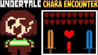 Undertale - Unitale: Chara Encounter   Новая битва с Чарой