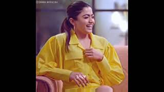 Rashmika Mandanna Love Status Video | Expression Queen | Rashmika | Team RMOE