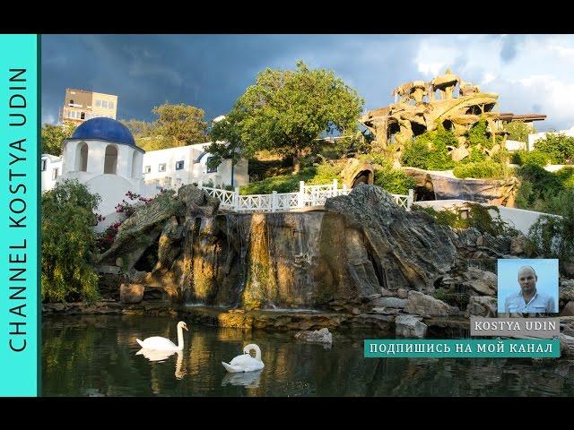 Искусственный водопад 40 метров (#LANDSCAPE) Водопад для отеля, уникальный ландшафт