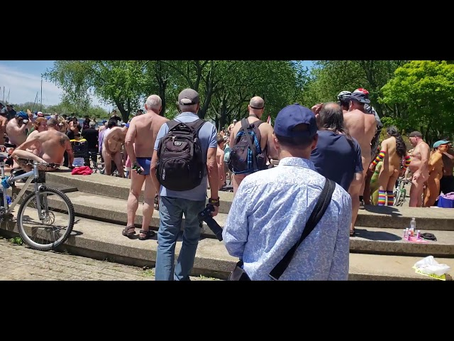 Naked Bike Ride Toronto 2019 Part2
