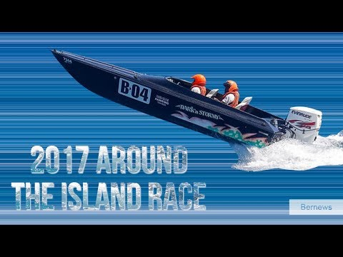 Around The Island Power Boat Race, August 13 2017
