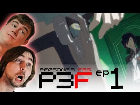 Persona 3 FES: Ep.1 IS THAT A GARTER GUN!?