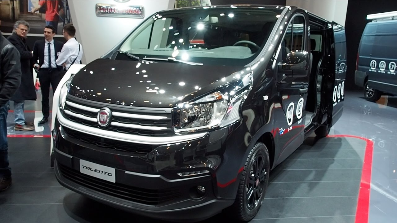 Fiat Talento 2017 In detail review walkaround Interior Exterior - YouTube