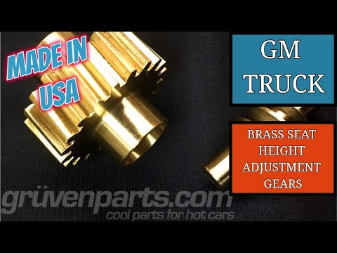 GruvenParts GM Truck Brass Gear Seat Repair