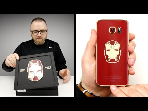 Iron Man S6 Edge Unboxing!