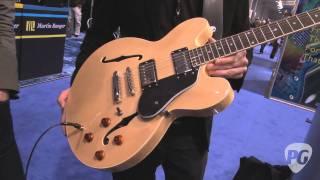 NAMM '12 - Tanglewood Guitars TSB59 Demo, TSB57 and TSB58