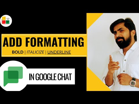Add Formatting To Messages In Google Chat||BOLD||Italicize||Emojis||Strike Through Text