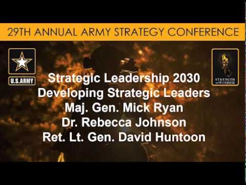 Army Strategy Conf. - Where Will the Military Find Its Future Strategic Leaders? - USAWC