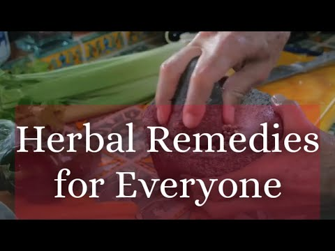 Most Common Herbal Remedies
