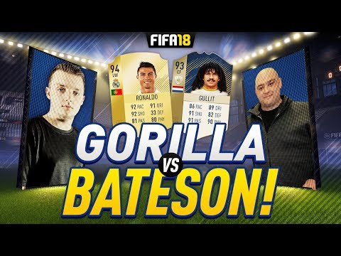 GORILLA vs BATESON87 ON FIFA 18 ULTIMATE TEAM | PRIME 93 GULLIT & 94 RONALDO