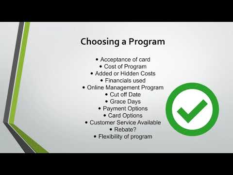 2018 01 16 10 00 Managing Credit Cards in your District