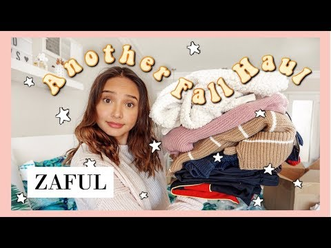 ZAFUL FALL CLOTHING HAUL (TRY ON) 2018  AFFORDABLE FALL CLOTHING HAUL