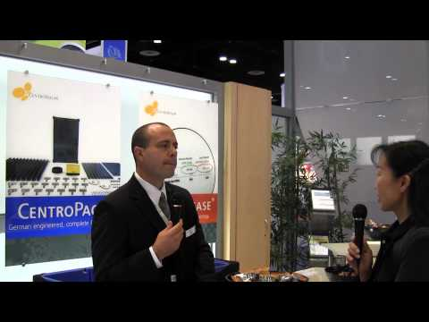CentroSolar America @ Solar Power International in Orlando, FL