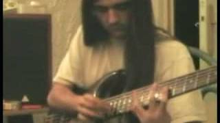 bass sweeping solo franck hermanny taping adagio from  sleep