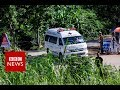 Cave rescue: Operation resumes to bring out boys  - BBC News Video News