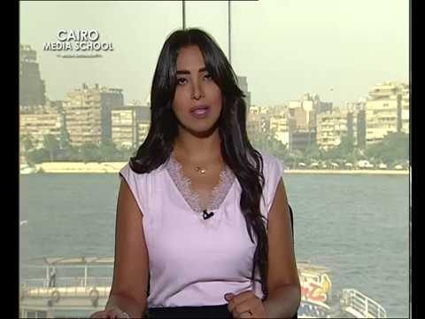 Mai El-Adawy - News Presenting July Workshop