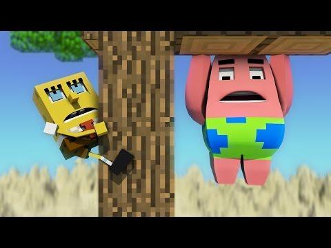 Губка Боб в MineCraft 3 - Анимация (Продолжение) (рус)