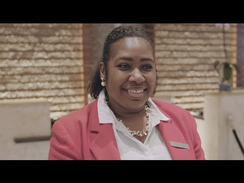 What Makes Marjorie Smile at Marriott?