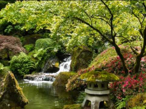 Japanese garden meditation youtube for Japanese meditation garden