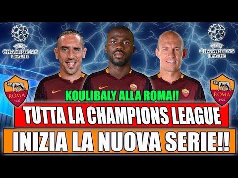 INIZIA LA NUOVA SERIE!! TUTTA LA CHAMPIONS LEAGUE CON LA ROMA!! FIFA 19 CARRIERA ALLENATORE ROMA #1