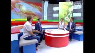 Первый зам. Министра образования РБ Вадим  Богуш и участники сборной команды на World Skills