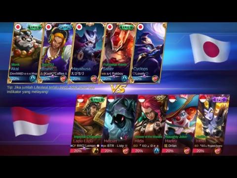 Indonesia Vs Japan Mobile Leged Bang Bang