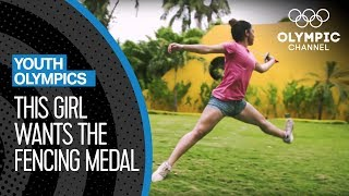 Natalia Botello is hungry for a success in Fencing | Youth Olympic Games
