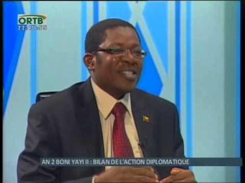 Nassirou Bako Arifari fait Le Bilan de l'Action Diplomatique
