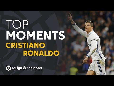 TOP 25 GOALS Cristiano Ronaldo En LaLiga Santander
