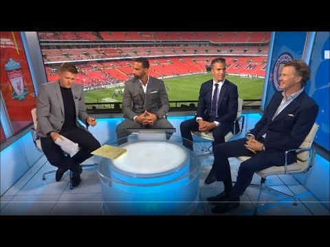 Liverpool 4 -5 Man City - Full Match Analysis with Rio Ferdinand & Van Persie Pundits