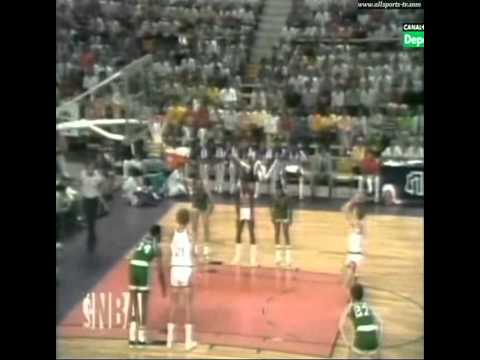 1976 NBA Finals - Game 4 Boston Celtics vs Phoenix Suns (Spanish audio) (1/2)