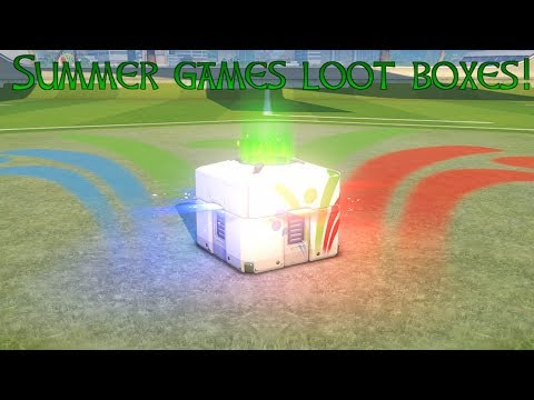 Overwatch - Summer Games loot box opening!!!!!