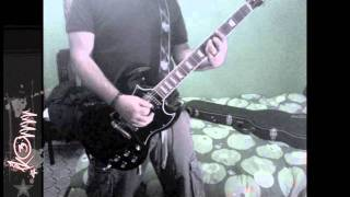 4 Skins - Evil (guitar cover)