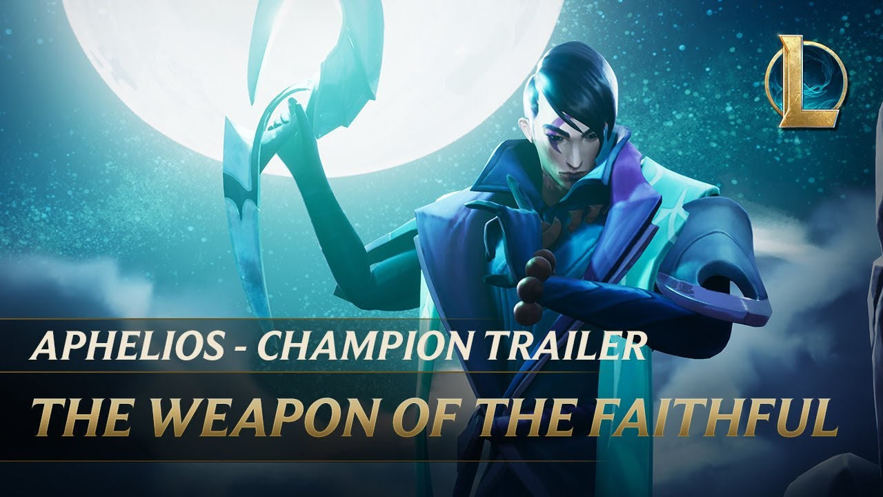 Aphelios: The Weapon of the Faithful | Champion Trailer - League of Legends thumbnail