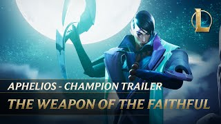 Aphelios: The Weapon of the Faithful | Champion Trailer - League of Legends
