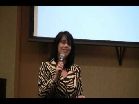 Roslyn Franken, Motivational Speaker at Biz Women Ignite 2010 in Tampa, Florida