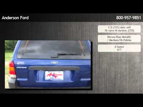 Anderson Ford Cleveland Tx >> 2006 Ford Escape 2.3L XLS - Houston - YouTube
