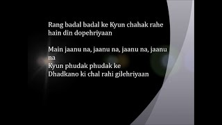 Gilehriyaan - Lyrical Video   Dangal   Aamir Khan   Pritam   Amitabh Bhattacharya   Jonita Gandhi