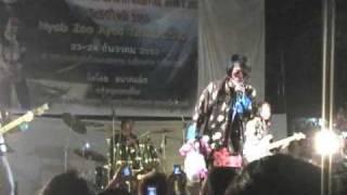 Laib Laus (hnov qab tus nyob Asia) hmong new year concert chiang mai