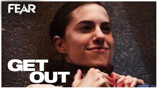 Chris Strangles Rose (Final Scene) | Get Out