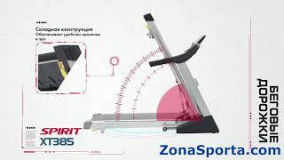 Беговая дорожка Spirit Fitness XT385. Обзор