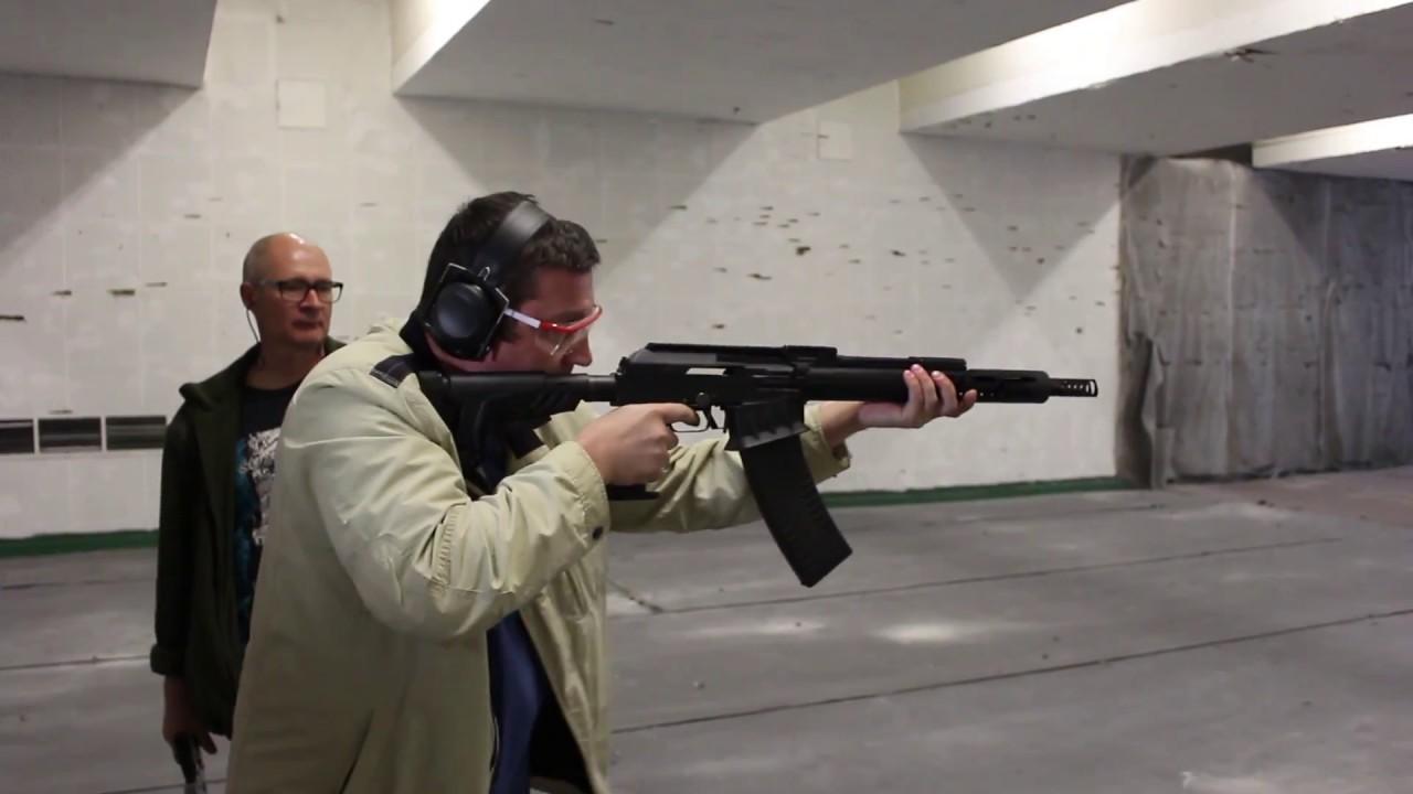 Как правильно ставить прицел на ружье. Сайга 12 исп. 340 стреляет .